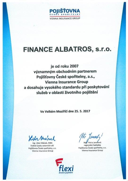FINANCE ALBATROS - reference 2017