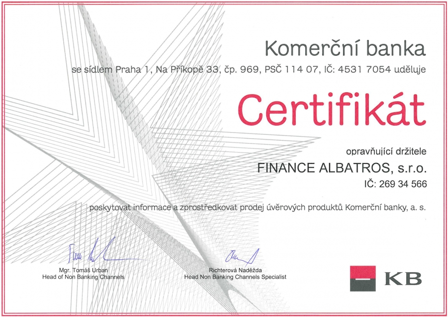 FINANCE ALBATROS - reference 2007