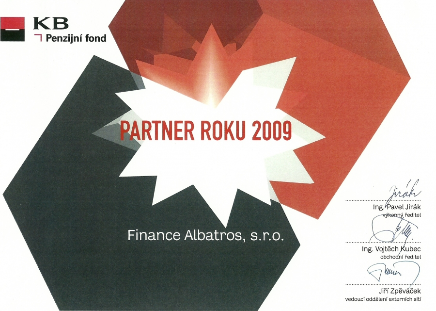 FINANCE ALBATROS - reference 2009