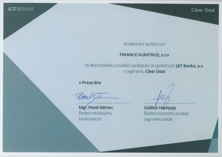 FINANCE ALBATROS - reference 2014