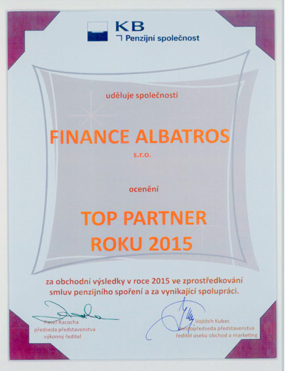 FINANCE ALBATROS - reference 2016